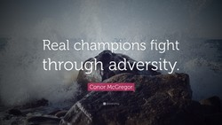 Real cha pions fight 