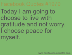 Today I am going to 