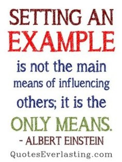 SETTING AN 