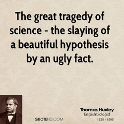 The great tragedy of 
