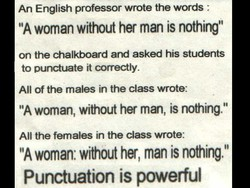 An English professor wrote the words