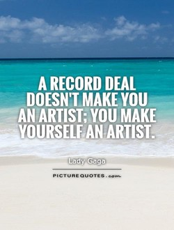 A RECORD DEAL 