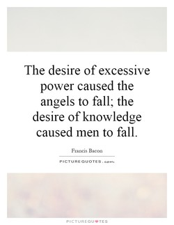 The desire of excessive
