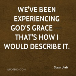 WE'VE BEEN 