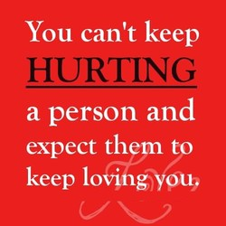 You can't keep 