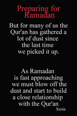 Preparing for 