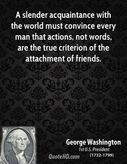 A slender acquaintance with 