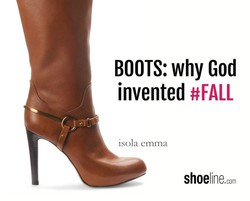 BOOTS: why God 