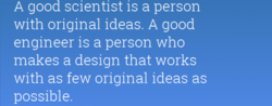 A good scientist is a person 