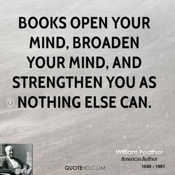 BOOKS OPEN YOUR 