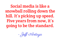 Social media is like a 
