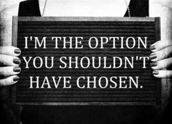I'M THE OPTION