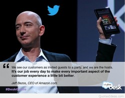 We see our customers as invited guests to a party, and we are the hosts. 