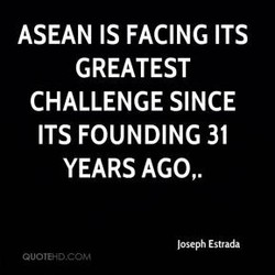 ASEAN IS FACING ITS 