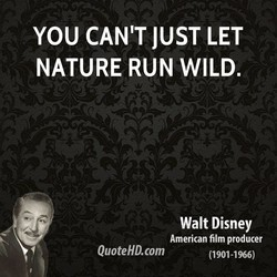 YOU CAN'T JUST LET 