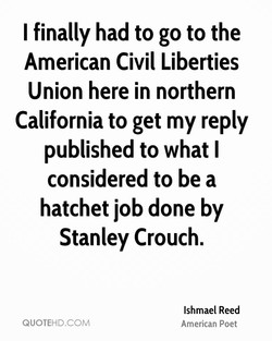 I finally had to go to the 