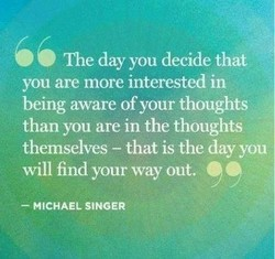 The day you decide that 