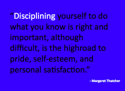 Disciplining 