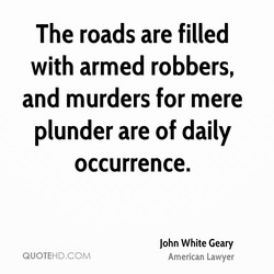 The roads are filled 