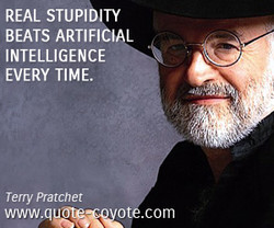 REAL STUPIDITY 