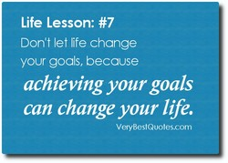 Life Lesson: #7 