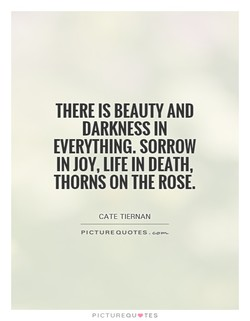 THERE IS BEAUTY AND 