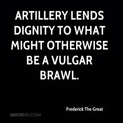 ARTILLERY LENDS 