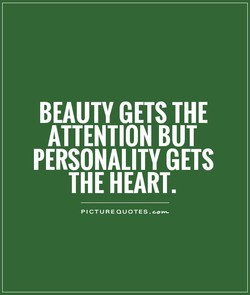 BEAUTY GETS THE 