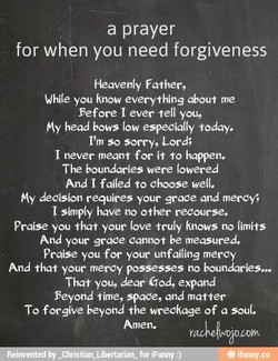 a prayer 