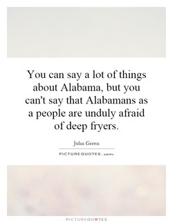 You can say a lot of things 