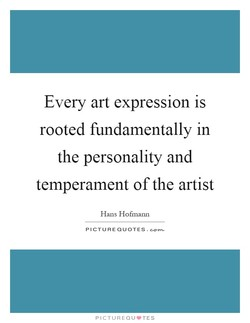 Every art expression is 