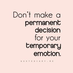 Don't make a 