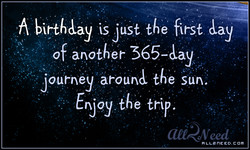 74, birth&ay is Just the first by 