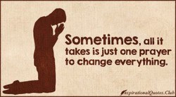 Sometimes, all it 