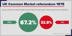 UK Common Market referendum 1975 