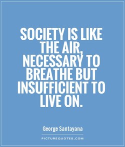 SOCIETY IS LIKE 