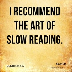 I RECOMMEND 