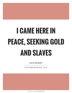 I CAME HERE IN 