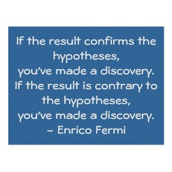 If the result confirms the 