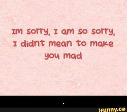 rm sorry, am so sorry, 