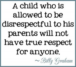 A child who is 