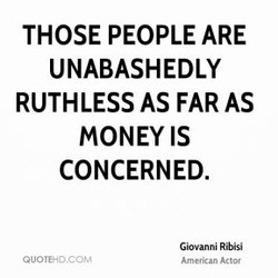 THOSE PEOPLE ARE 