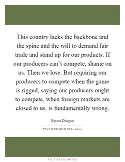 This country lacks the backbone and 