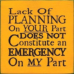Lack Of 