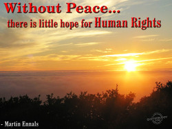 'YJithout Peace... 
