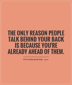 THE ONLY REASON PEOPLE 