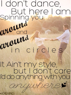 I don't dance, 