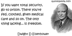 IF you want total security, 