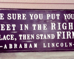 E SURE YOU PUT 