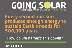 GOING SOLAR 